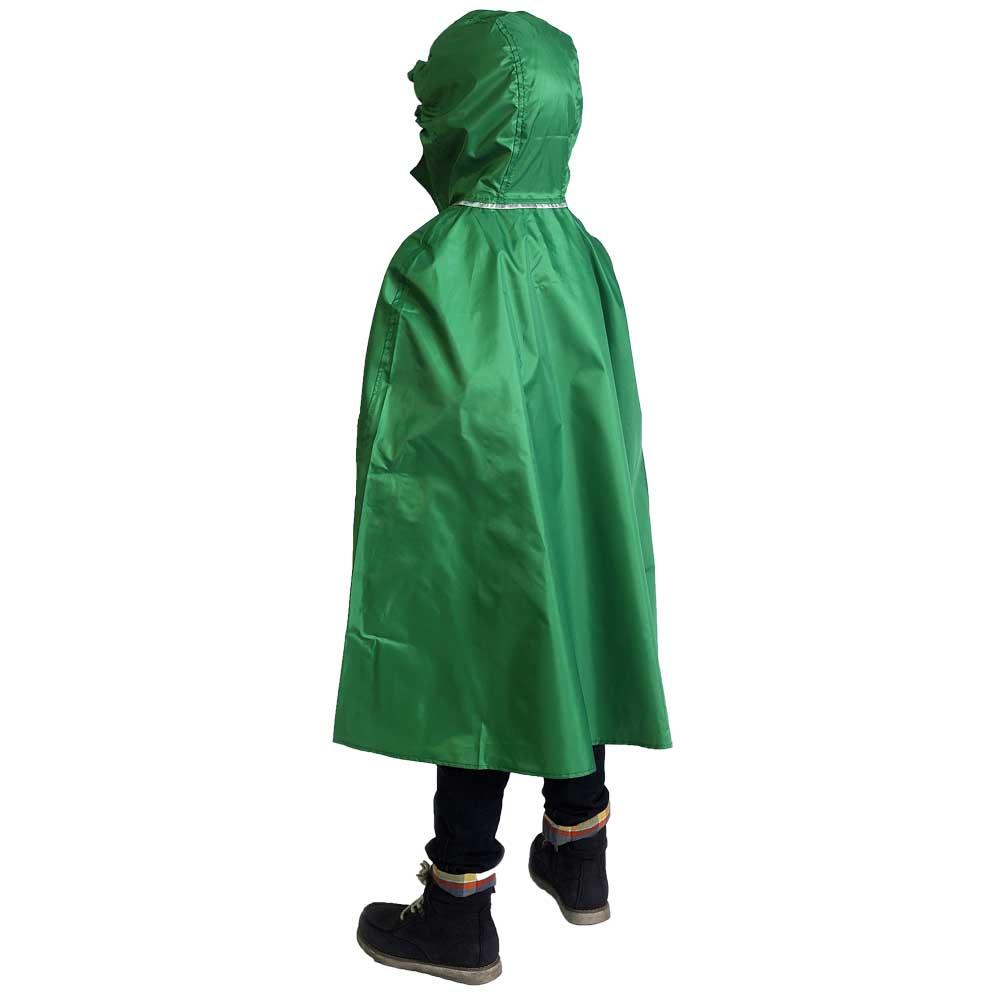 Компактный детский дождевик с капюшоном